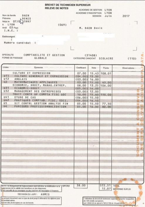 Dossier E6 Cours Bts Cg